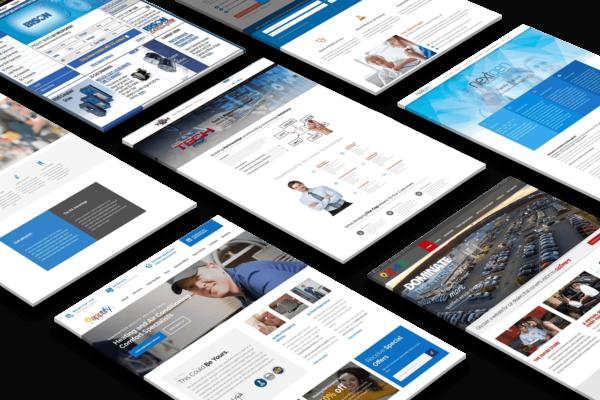 Website Updates, App Development, Email Marketing, Social Media Marketing